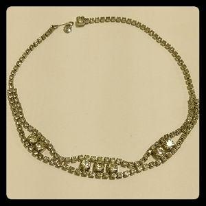 🇨🇦 Vintage 50s Art Deco necklace by Kramer of NY